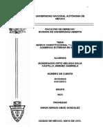 MARCO CONSTITUCIONAL Y LEGAL DEL COMERCIO EXTERIOR EN MÉXICO.doc