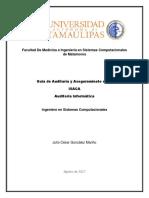 Guia de Auditoría y Aseguramineto de SI ISACA