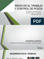 Seguridad en El Trabajo y Control de Pozos - Clase 1