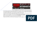 Gaglione Strength 6 Week Strength Program