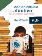 Metodo de Estudio Definitivo Para El Estudiante Universitario Guia de Estudio Docsity