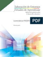 Entornos Virtuales de Aprendizaje 1 a 4