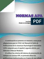 Aplicación APA
