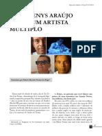 João Denys Araújo Leite Um Artista Múltiplo