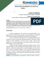 011 Administração Keynes e a Teoria Geral Do Emprego Do Juro e Da Moeda