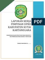Laporan Ketua Dprd Masa Sidang Mei 2018