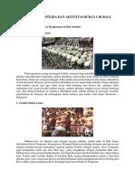 Data Adat Istiada Dan Aktivitas Budaya Di Bali