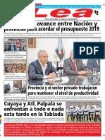 Periódico Lea Viernes 07 de Septiembre Del 2018
