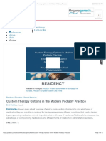 Custom Therapy Options in the Modern Podiatry Practice transcript.pdf