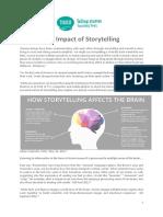 Impact of storytelling