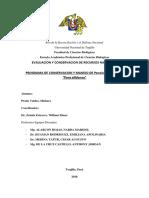Programa de Conservacion y Manejo de Penelope Albipennis