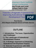 Frameworks for Local Government Financial Development