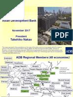 Keynote Speech by Takehiko Nakao, President, Asian Development Bank (ADB)  - English