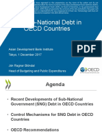 Sub-National Debt in OECD Countries