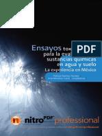 Ensayos Toxicologicos Mexico