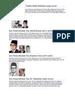Era Pemerintahan Tunku Abdul Rahman