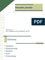 Semantic prosody