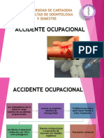 Accidente Ocupacional