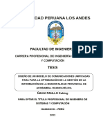 Tesis de La Municipalidad Provincial de Acobamba