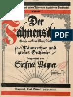 SWagner Der Fahnenschwur Cover