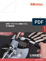 Mitutoyo - U-Wave - 12000(8) - 2018 JP