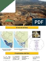 El oro en el Peru
