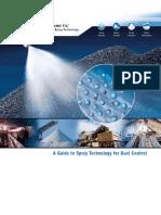 Tecnología en Spray y Control de Polvo