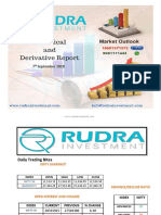 Nifty Tips Expert Technical & Derivative Report (7th September)