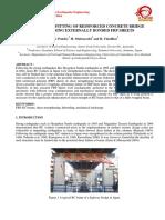 Sismic Retrofitting of Rcc Bridges Using Frp Bonded Sheets