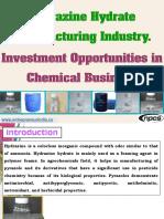Hydrazine Hydrate Manufacturing Industry