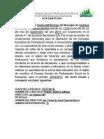REGISTRO PÚBLICO DE LOS CONSEJOS ESCOLARES DE PARTICIPACION SOCIAL