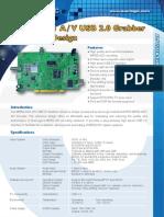 7. MPEG-4,2,1 AV USB 2.0 Grabber Reference Design