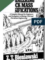 Engineering Rock Mass Classifications