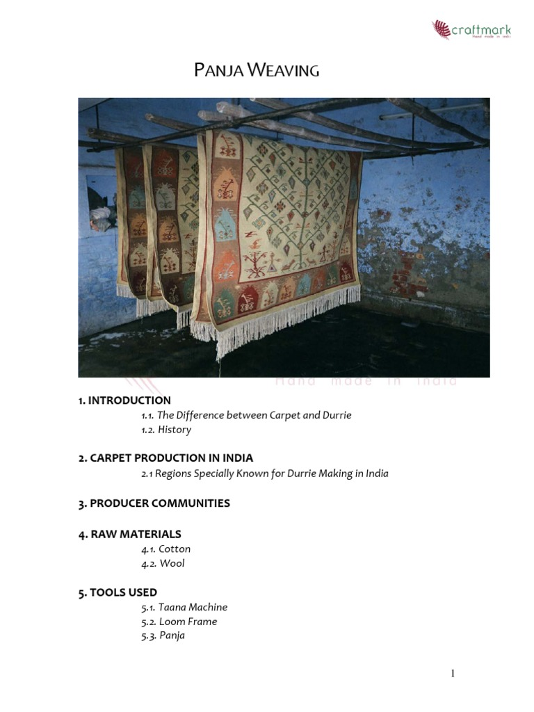 panja weaving | Weaving | Loom