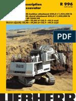 PDF Hydraulic Shovel Liebherr 996