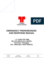 FT16-Emergency Plan TML O&M FY2018 - 19