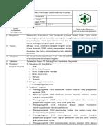 5.4.2.1 SOP Mekanisme Komunikasi Dan Koordinasi Program
