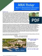 MRA Newsletter - Jan 2010