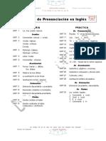 0º Temario Del Curso de Pronunciaciòn en Inglès