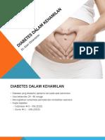 Penyuluhan Diabetes Gestasional