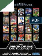 Sega Megadrive games catalogue