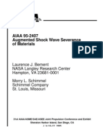 Augmented Shockwave Severence of Materials