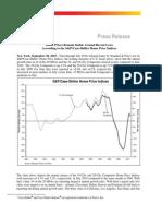 S&P/Case-Shiller Home Price Indices