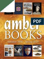 Amber Spring 2019 Trade Books Publishing Catalog