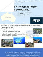 Strategic Planning Frameworks for Infrastructure
