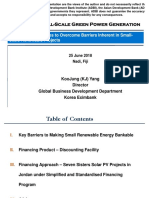 Financing small scale green power generation