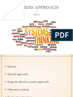 System Approach