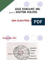 komposisi kimia sel