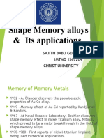 Shape Memory Alloys 160216153820