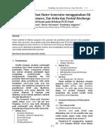 Fuad Hasan-Assessment Isolasi Stator Generator Menggunakan Uji Insulation Resistance, Tan Delta Dan Partial Discharge